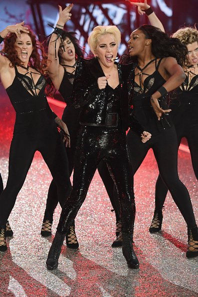 Lady Gaga Performs at the 2016 Victoria's Secret Fashion Show in Paris