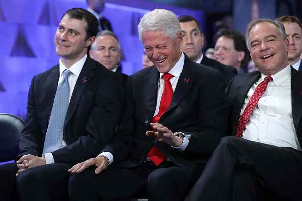 Marc Mezvinsky, Bill Clinton, Tim Kaine