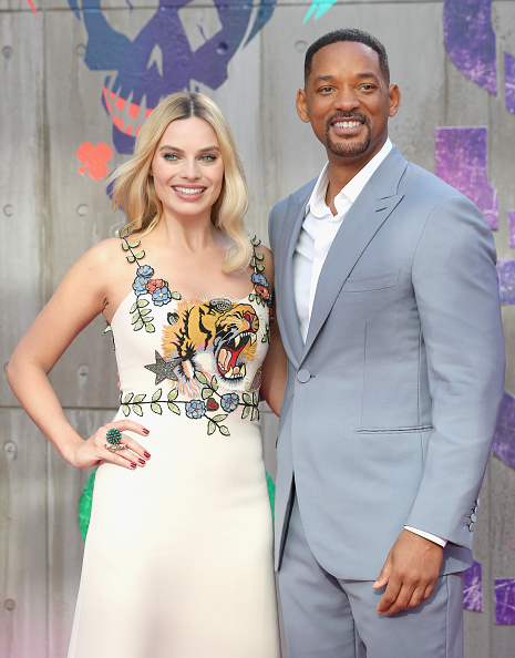 Margot Robbie & Will Smith