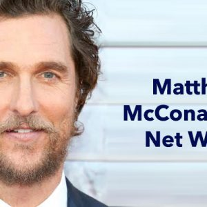 Matthew McConaughey Net Worth 2017:Movies, Comedy, Oscar ...