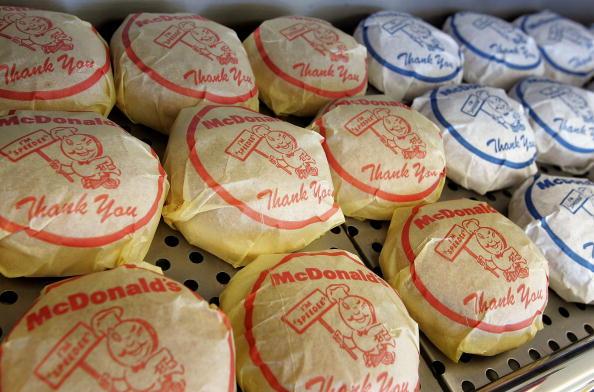 McDonalds chain of fast food restaurants