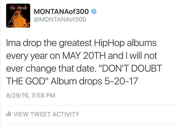 Montana of 300 Tweeted