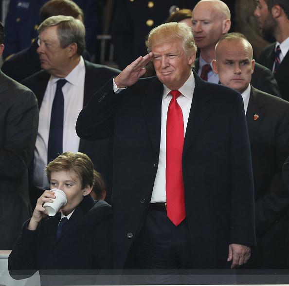 President Donald Trumps son Barron Trump