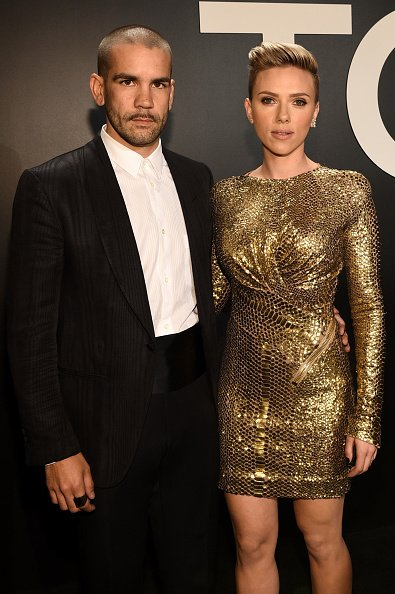 Romain Dauriac & Scarlett Johansson