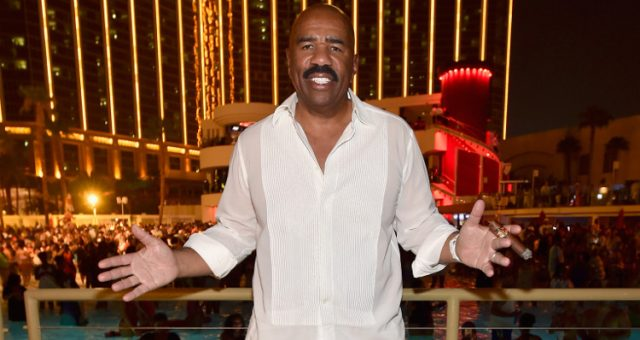 Steve Harvey Questioned Miss Kenya Donald Trump Presidency