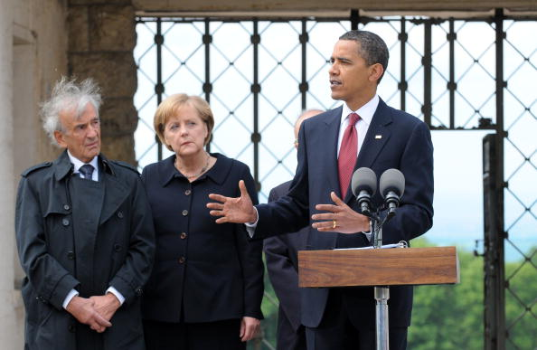 US President Obama Visits Buchenwald Concentration Camp Memorial