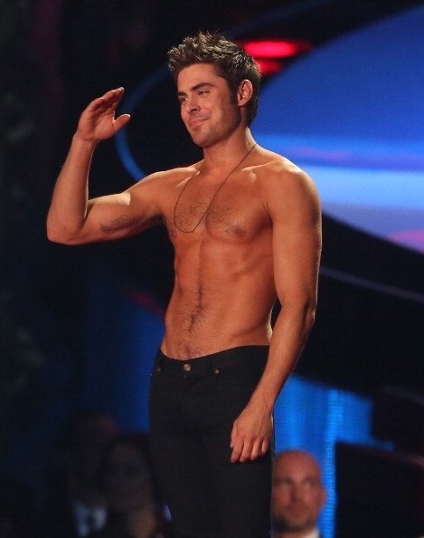 Zac Efron, 2014 MTV Movie Awards
