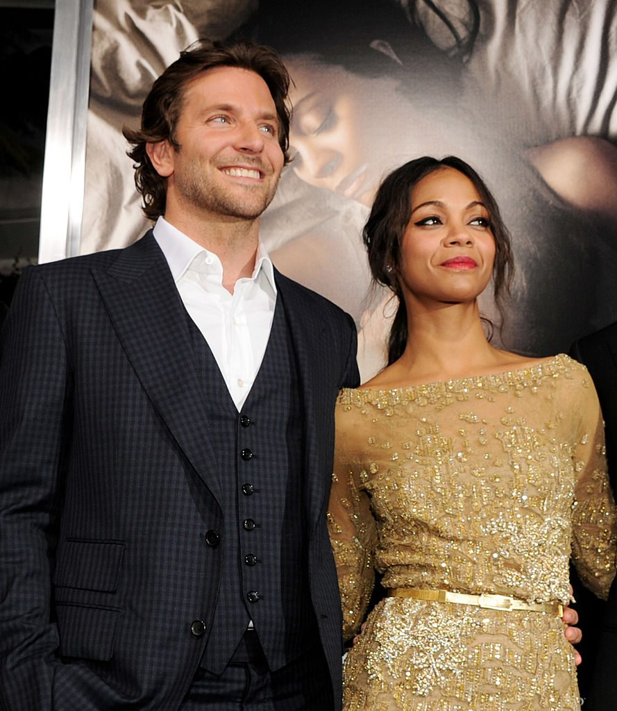 Zoe Saldana Dating Bradley Cooper