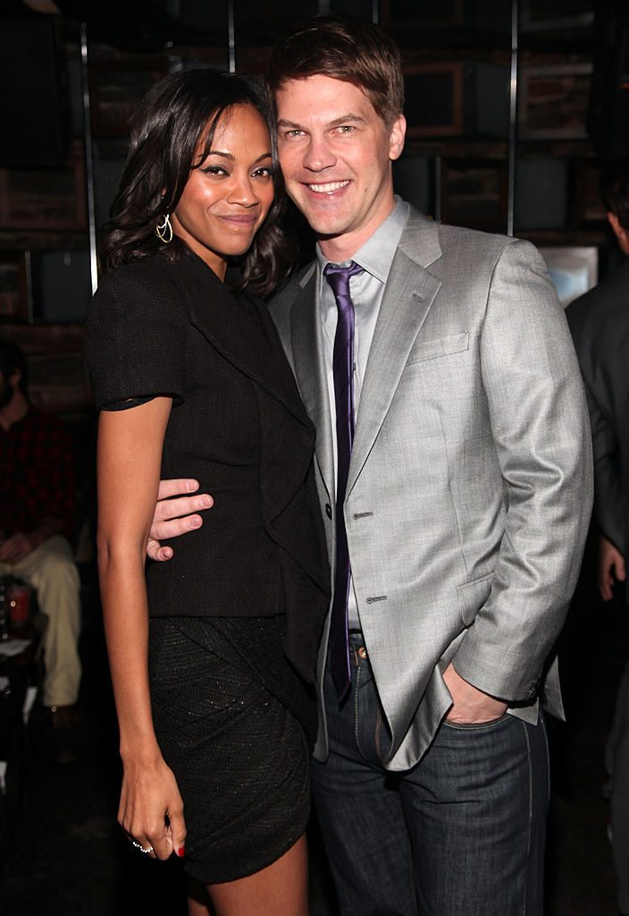 Zoe Saldana Dating Keith Britton