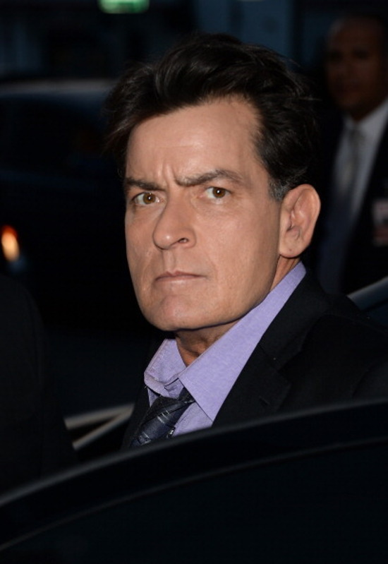 charlie sheen diagnosis