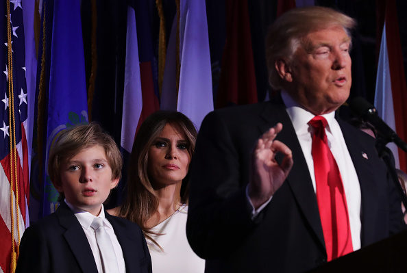 barron trumps worth youngest heir fortune