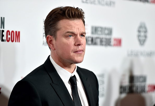 matt damon new movies