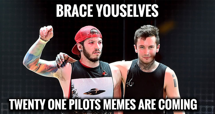 15 Twenty One Pilots Great Memes