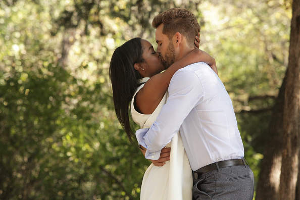 Rachel Lindsay and Nick Viall