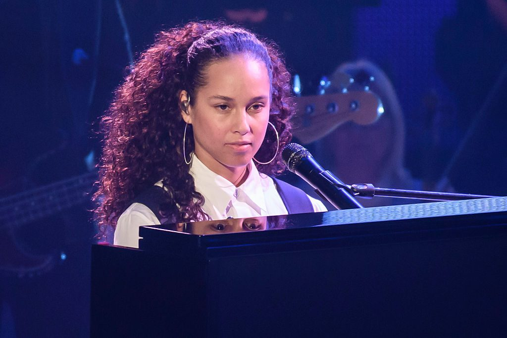 Alicia Keys The Voice 2017 Judge