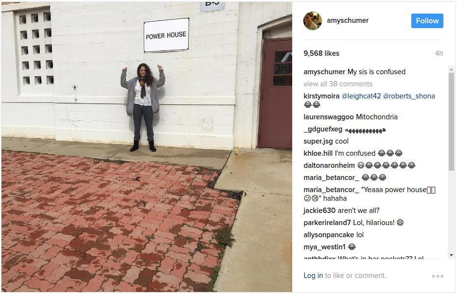 Amy Schumer Instagram Pics