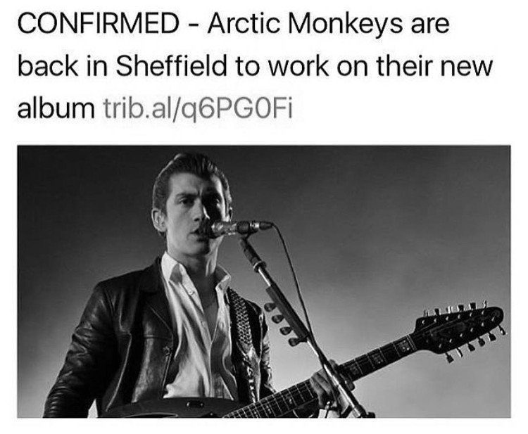 Arctic Monkeys Upcoming Album in 2017