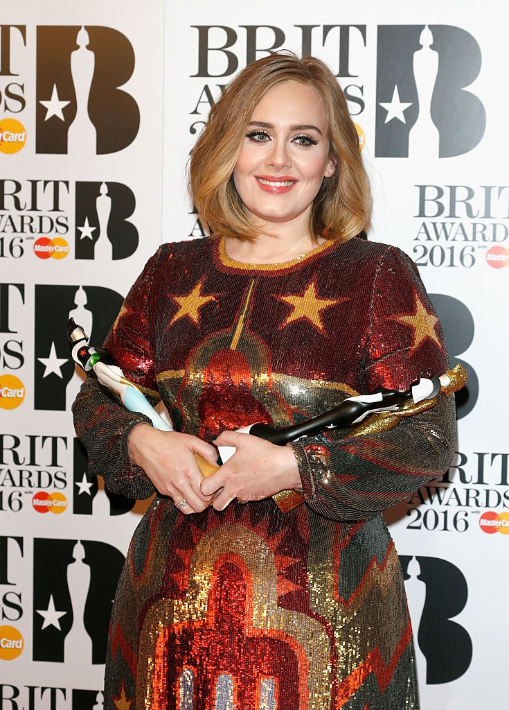 Award-winning singer Adele