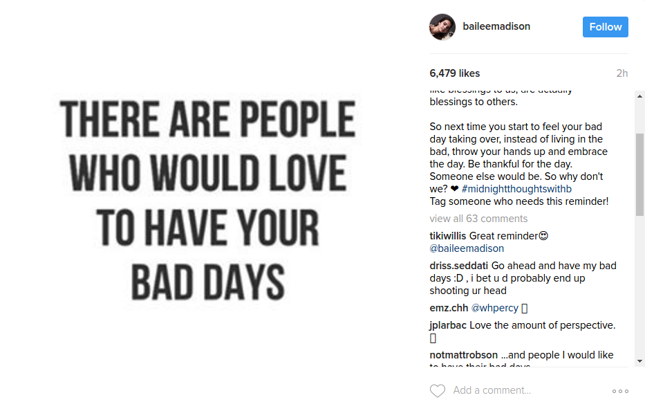 Bailee Madison Instagram