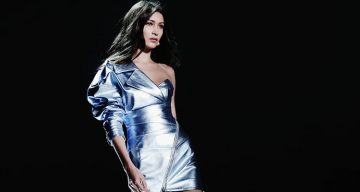 Bella Hadid at Alberta Ferretti Fashion Show