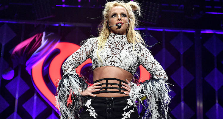 Britney Spears Pouting and Grooving to Rap Music