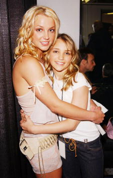 Britney Spears and Jamie Lynn Spears, 2003