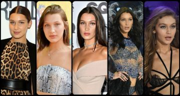 Check Out Bella Hadid Before and After Surgery Photos