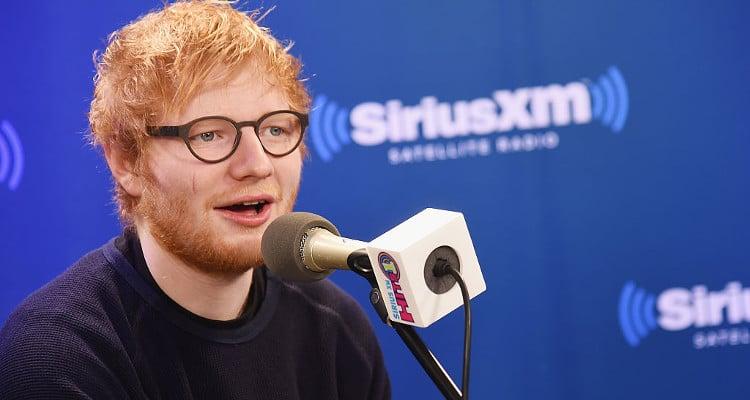 Ed Sheeran Shares Pics on Instagram