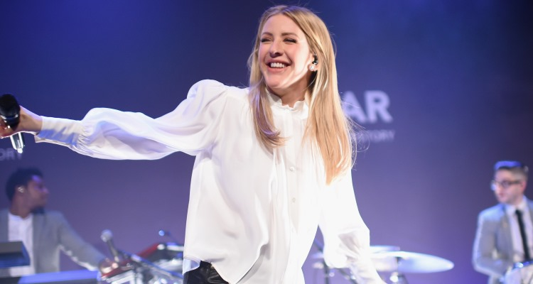 Ellie Goulding at the 19th Annual amfAR New York Gala 2017