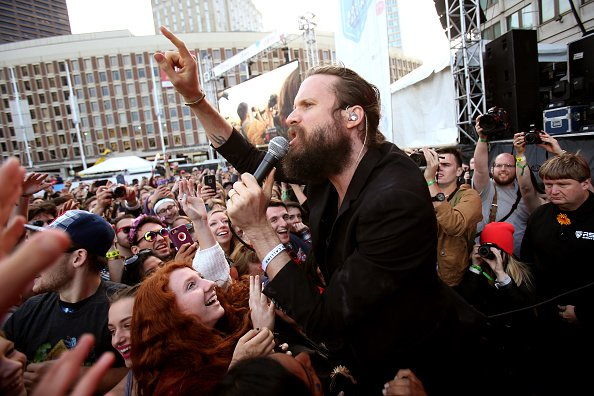 Father John Misty 2015 Boston Calling Music Festival