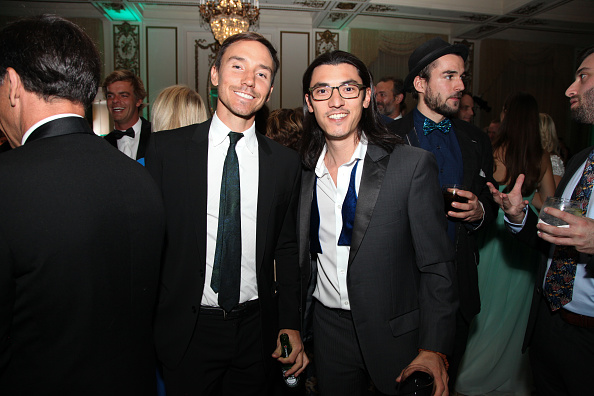 Filmmakers Rob Stewart and Jeff Orlowski at The Ocean Gala, 2016