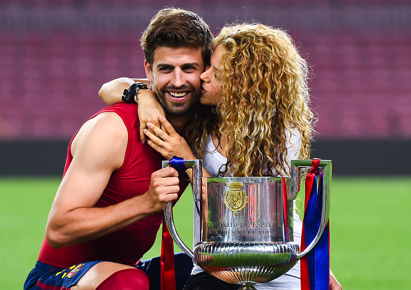 Gerard Pique & Shakira