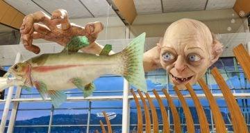 Gollum sculpture