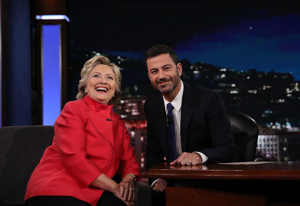 "Hillary Clinton Tapes Appearance On ""Jimmy Kimmel Live"""
