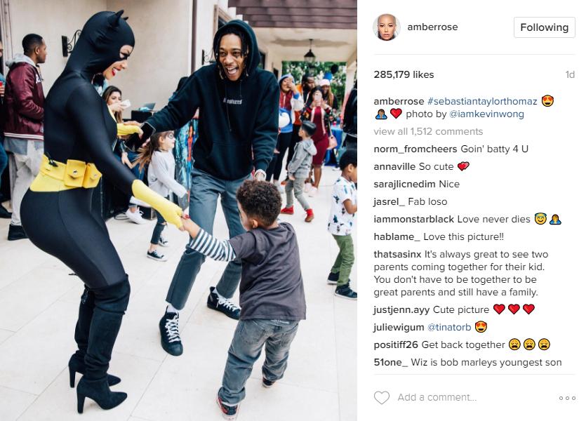 Instagram/Amber Rose