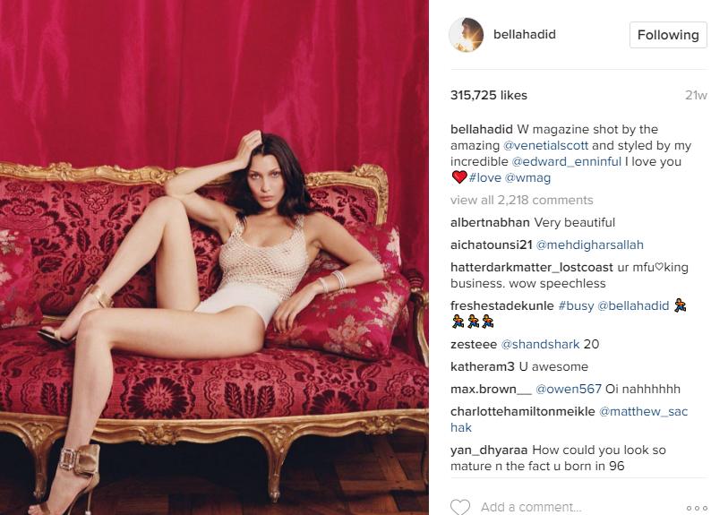 Instagram/Bella Hadid