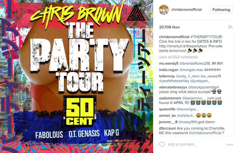 Instagram/Chris Brown