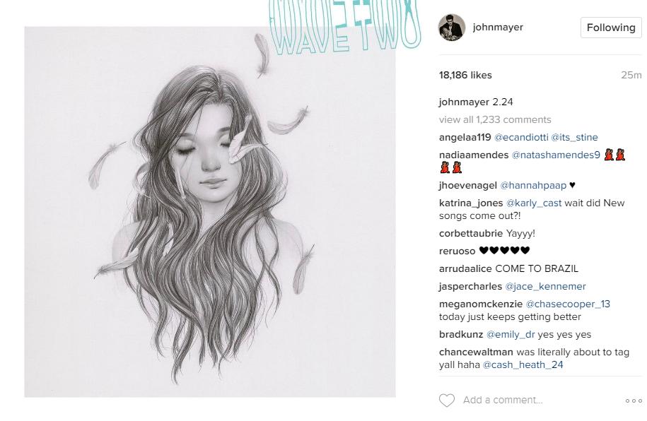 Instagram/ John Mayer