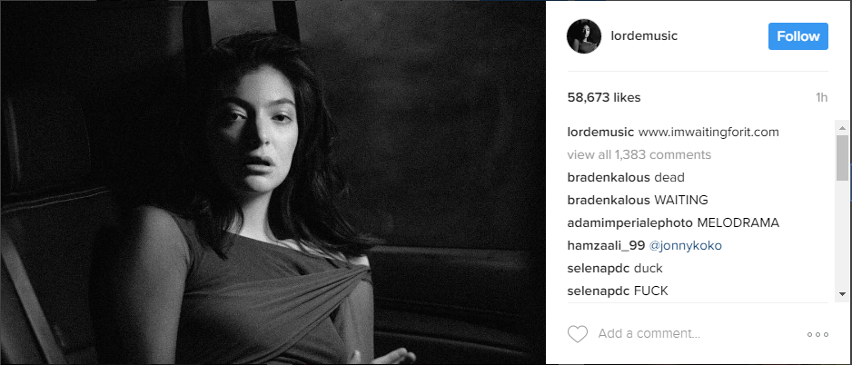 Instagram/Lordemusic