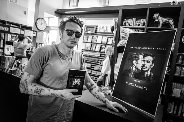 James Franco Book Signing