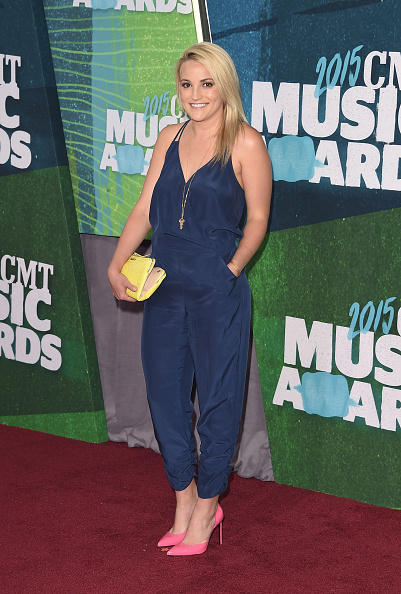 Jamie Lynn Spears at the 2015 CMT Awards