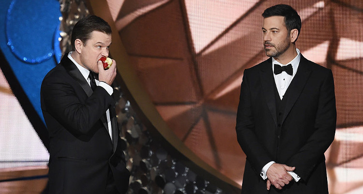 Jimmy Kimmel and Matt Damon feud