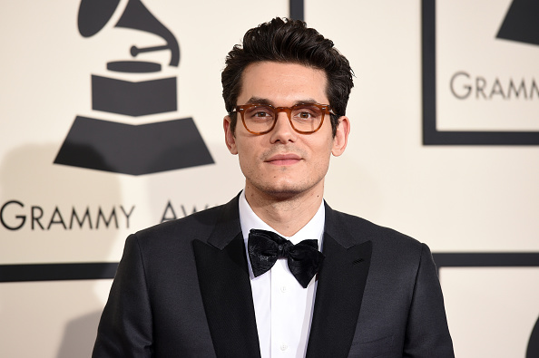 John Mayer at the 57th Grammy Awards