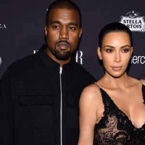 Kanye West & Kim Kardashian NYFW