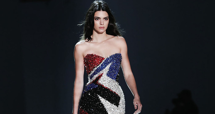 Kendall Jenner Parties up a Storm With a Mystery Man