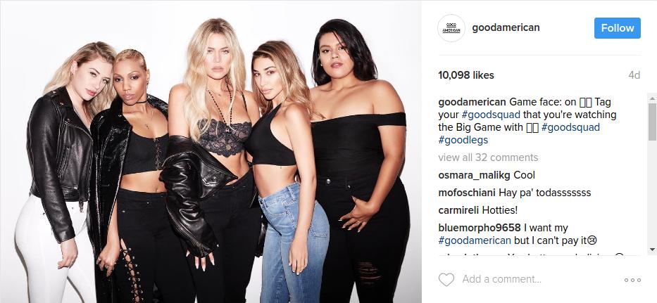 Khloe Kardashian Good America