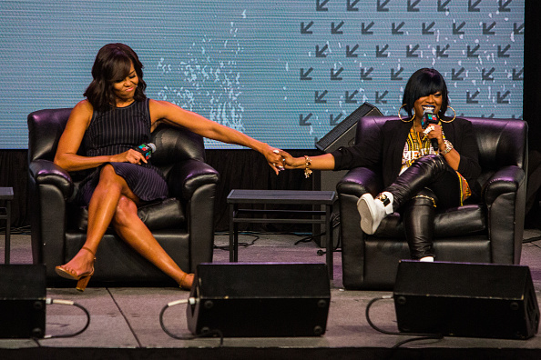 Michelle Obama & Missy Elliott