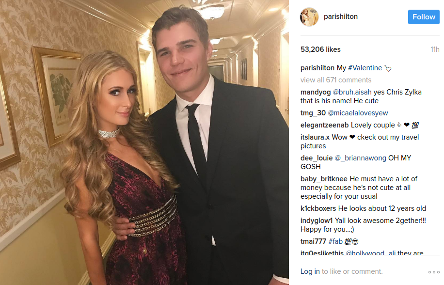 Paris Hilton Dating Chris Zylka