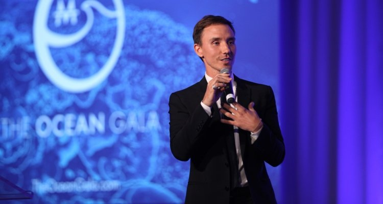 Rob Stewart at The Ocean Gala, 2016