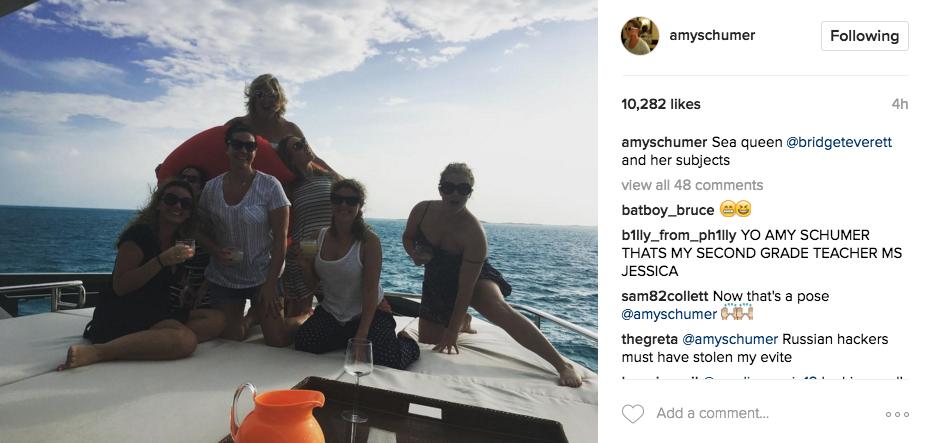 Instagram/amyschumer